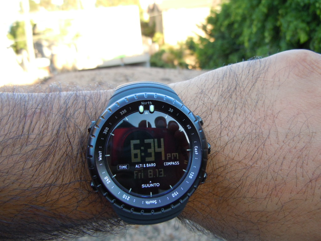 Suunto All Black Military